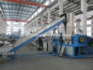 Water-Ring Cutter Type Double-Stage Waste Plastic Film Pelletizer pictures & photos