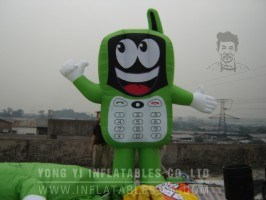 Inflatable Phone, Model