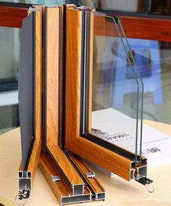 Aluminium Windows and Doors Aluminum Profiles Curtain Wall Frame pictures & photos