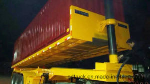CONTAINER TRUCK WITH TIPPING PLATFORM pictures & photos