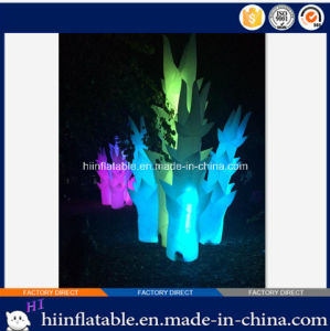 Best Quality Outdoor Party Decorations Supplies Lighting Inflatable Tube with LED Light for Sale