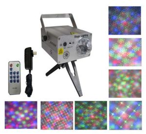 Multi-Patterns Laser Stage Light with Remote Controller (XL-SL-102)