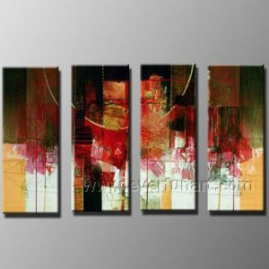 Modern Abstract Oil Painting on Canvas for Decor (XD4-218) pictures & photos