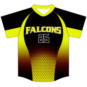 Custom Design Baseball Tshirt Sports Wear for Players pictures & photos
