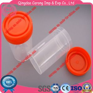 Disposable Plastic Urine Cup Container 60ml pictures & photos