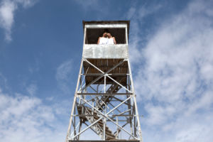 Galvanized Angel Steel Coast Look out Tower pictures & photos
