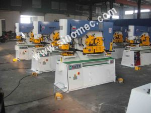 Hydraulic Multiple Functions Ironworker Punching Q35y-30 pictures & photos