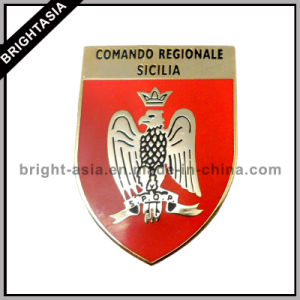 Shield Pin with Enamel for Military Gift (BYH-10715) pictures & photos