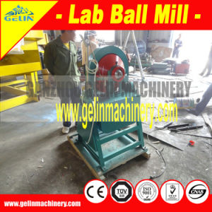 Mini Lab Mining Small Ball Mill for Gold Mineral Testing pictures & photos