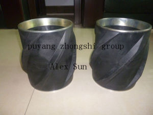 "5"" Spiral Vane Rigid Thermoplastic Casing Centralizer pictures & photos"