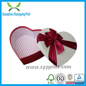 Factory Custom Made High Quality Cheap Heart Shape Cardboard Gift Box pictures & photos