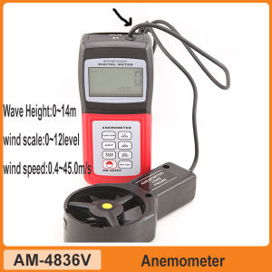 Multi-Functions Digital Wind Scale Anemometer Am4836V pictures & photos