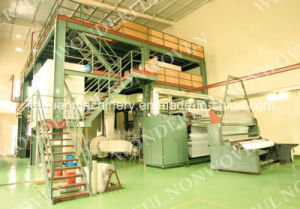 3.2m Double Die PP Spunbond Non Woven Fabric Machinery pictures & photos