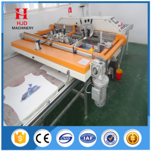 Automatic Flat Screen Printing Machine with Vacuum Table for Ruler pictures & photos