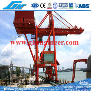 800t Rail Mounted Ship Grab Unloader for Bullk Cargo Ore pictures & photos