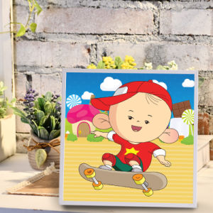 Factory Direct Wholesale New Children DIY Handcraft Sticker Promotion Kids Girl Boy Gift T-034 pictures & photos