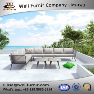Well Furnir Sectional Sofa with Cushion pictures & photos