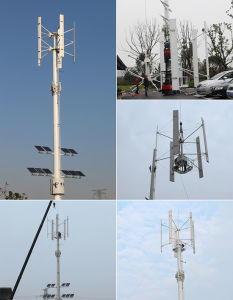 Wind Power Generatator with LED Solar Street Lights pictures & photos