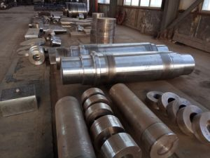 Forged Carbon/Alloy Steel Round Bar, Open-Die Forging pictures & photos