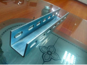 Punching C Type Steel Photovoltaic Bracket Galvanized U Steel pictures & photos