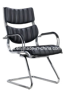 Metal Furniture Modern Leather Office Meeting Visitor Chair (E125) pictures & photos