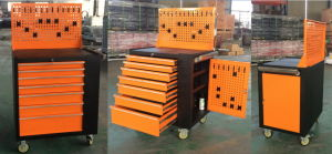 Small Tool Trolley with Tool Chest and Peg Board pictures & photos