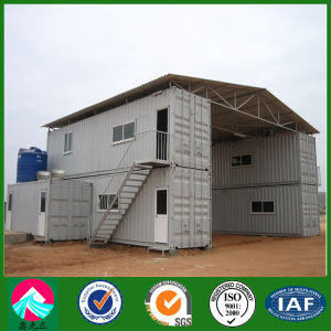 Two Storey Container House with Color Coated Steel Roof (XGZ-CH025) pictures & photos