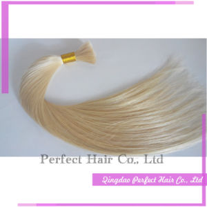 Unprocessed Brazilian Platinum Honey Blond Hair Bulk Wholesale pictures & photos
