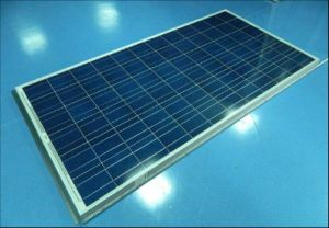 Sunlight Poly Crystalline Solar Panel PV Module 18V 36V 195W 200W 205W 210W with TUV Approved pictures & photos