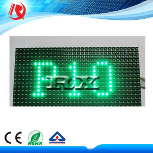 P10 Green Color LED Module for Outdoor pictures & photos