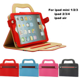Wholesale Handbag Design Leather iPad Case for Air and Mini
