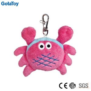Custom Plush Crab Keychain Stuffed Soft Toy Keychain pictures & photos