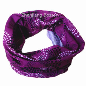 Custom Made Logo Printed Polyester Cheap UV Protection Multifunctional Tube Buff pictures & photos