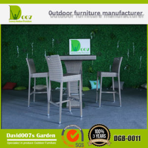 Garden Rattan Furniture Bar Set with Cushion for Outdoor pictures & photos