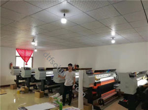 Dye Sublimation Printer with Sublimation Paper and Inks pictures & photos