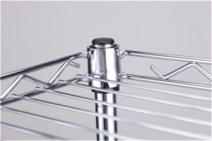 Adjustable Steel Mini Kitchen Wire Shelf Rack for Food pictures & photos