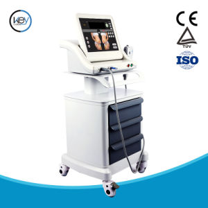 Portable5 Cartridges Stubborn Weight Loss Face Care Hifu Machine pictures & photos