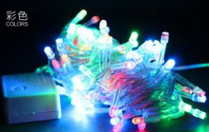 10 Meter String of 100 LED Solar Powered Fairy Light pictures & photos