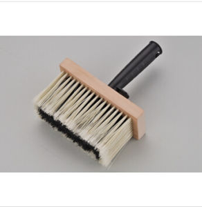 Sjie3345 Square Wooden Plate Ceiling Brush Synthetic Bristle pictures & photos
