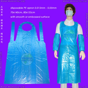 Disposable Plastic Apron pictures & photos