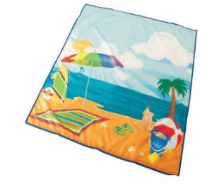 High Quality 600d PVC Beach Mat with Steel Frame pictures & photos
