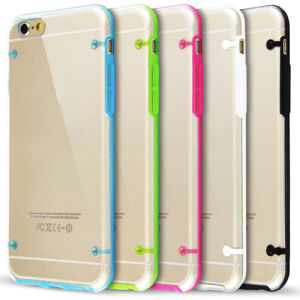 Ultra Thin Transparent Clear TPU Case for iPhone 6 Plus pictures & photos