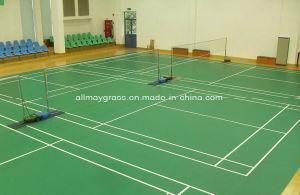 Indoor Synthetic Rubber Badminton Court Spu