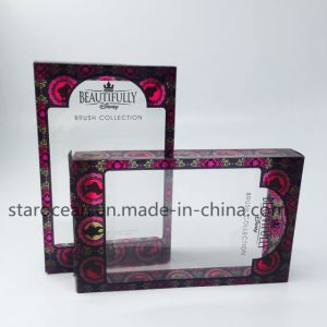 Plastic PVC/PP/Pet Pet Folding Container for Cosmetics with UV Printing pictures & photos