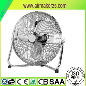 "18"" 3 Speed High Velocity Floor Fan with Iron Blades pictures & photos"