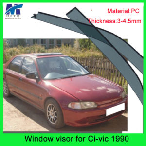 Auto Accesssories Window Roof Visors Sun Guard for Hodna Civic 90 pictures & photos