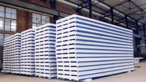 Insulation PU Sandwich Panel in Stock pictures & photos
