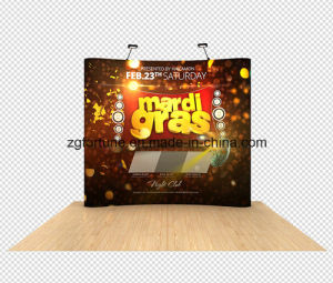 2017 Hot Sale Curved Straight Stretch Backdrop Display Tent Pop up pictures & photos