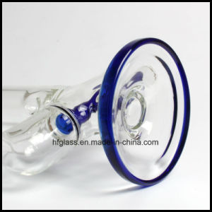 Hfy Glass 11.5 Inches Illadelph Blue Inline Perc Wholesales Factory Smoking Water Pipe pictures & photos