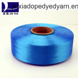 FDY Dope Dyed 600d/144f Filament Polyester Yarn pictures & photos
